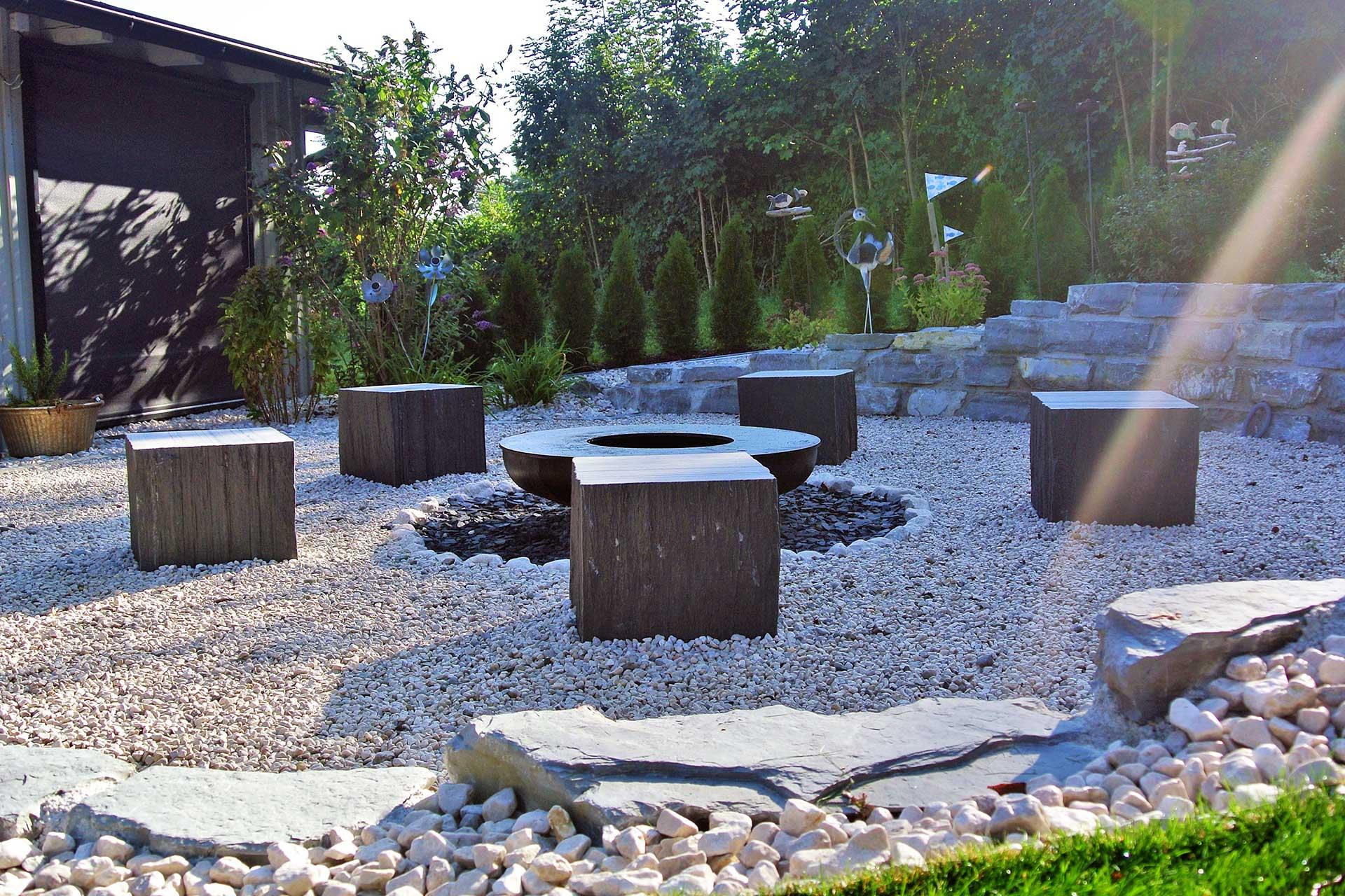 Gartenumgestaltung Neuer Treffpunkt Und Kraftplatz Karl Sailer